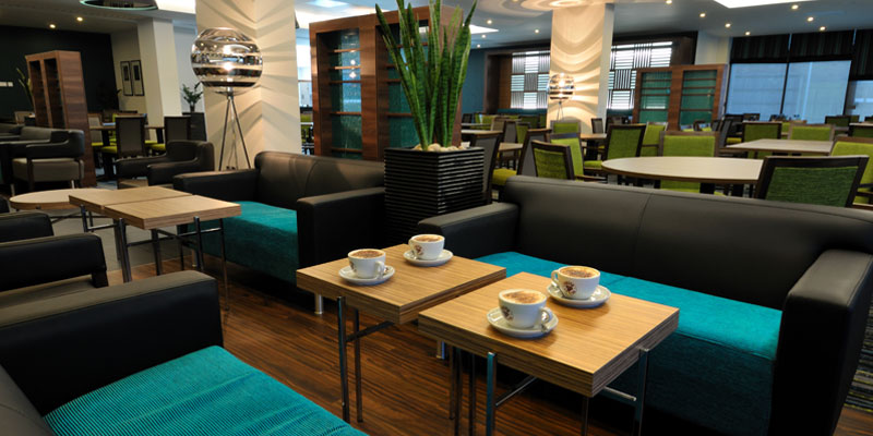 holiday inn express heathrow t5 lobby