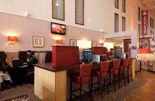 Heathrow Premier Inn bar