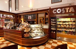 Heathrow Premier Inn coffee shop
