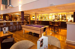 Heathrow Premier Inn lounge 2