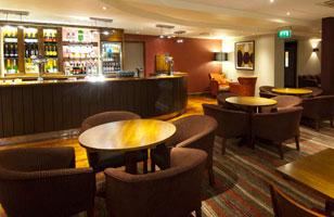 Heathrow Premier Inn lounge