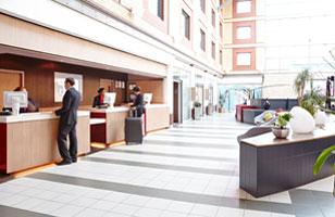 Novotel Heathrow novotel heathrow reception1