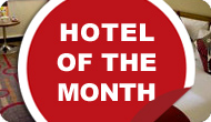 Stay nearby - at our hand picked hotel of the month!