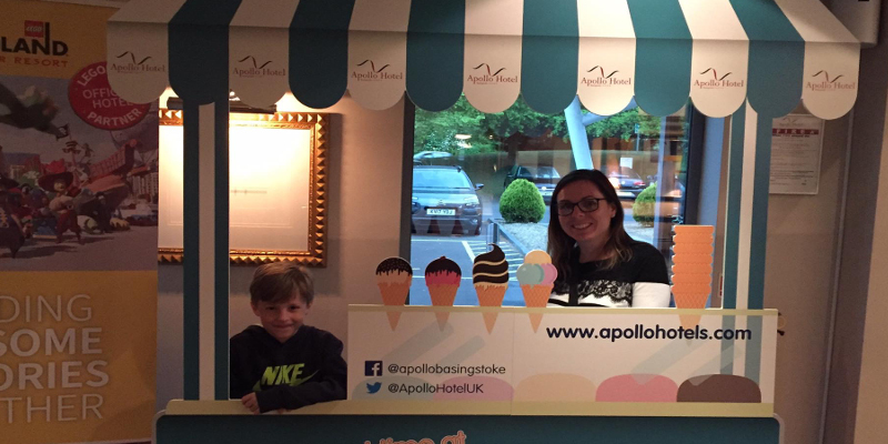apollo hotel basingstoke icecream