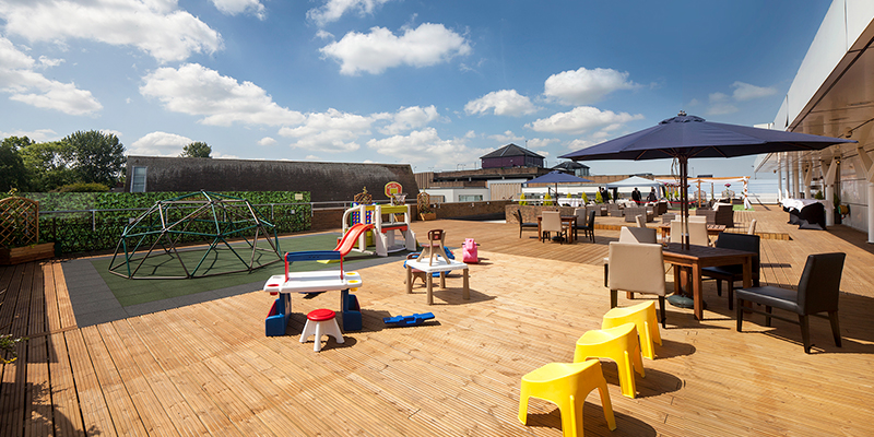 the grange hotel terrace kids area