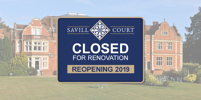 savill court hotel exterior closed